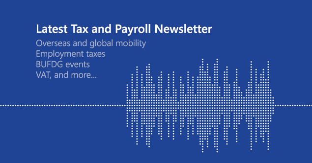 New Tax Newsletter!